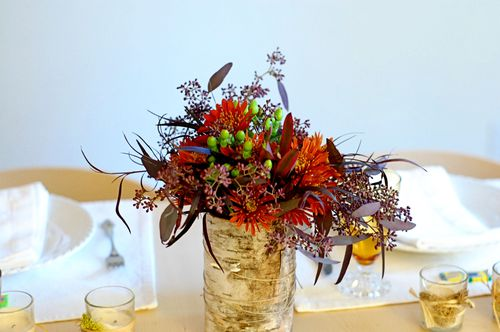 Thanksgiving Table Decor by Wise Craft Handmade
